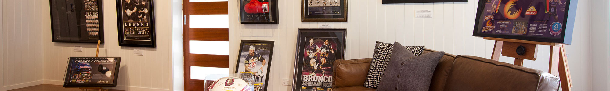 Sporting Memorabilia Framing