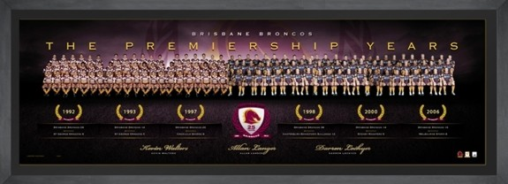 SOLD OUT! Brisbane Broncos - The Premiership Years