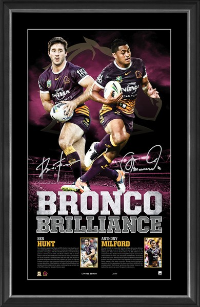 Broncos Brilliance - Anthony Milford and Ben Hunt
