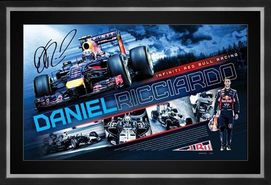 SOLD OUT! DANIEL RICCIARDO - Personally signed limited edition