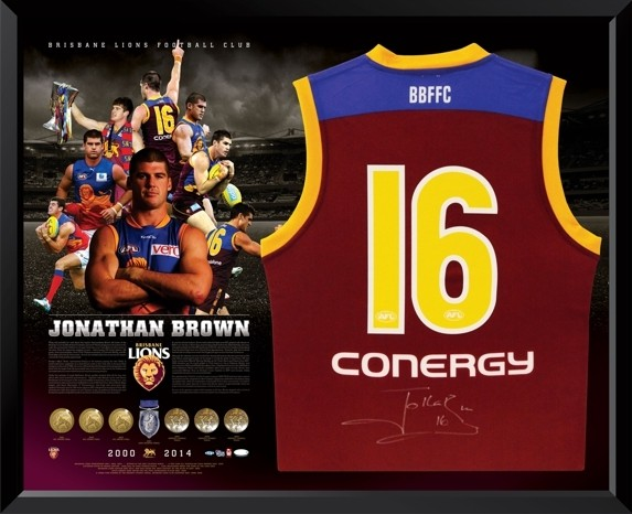 Jonathan Brown Brisbane Lions Retirement Guernsey - SOLD OUT!