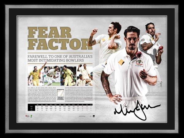 SOLD OUT! Mitchell Johnson Fear Factor Limited Edition
