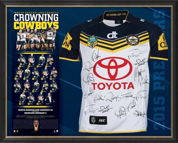 SOLD OUT! North Queensland Cowboys - Grand Final Jersey