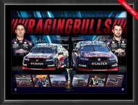 SOLD OUT! Raging Bulls - Van Gisbergen & Whincup