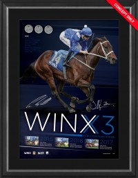 Winx - Dual Signed Lithograph
