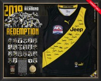Richmond 2019 Premiers Team Signed Guernsey