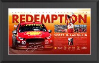 "Scott McLaughlin signed ""Redemption"" Limited Edition"