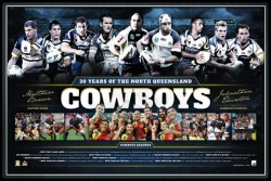 20 years of North Queensland Cowboys