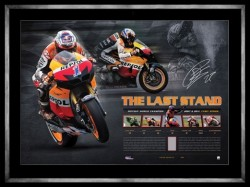 Casey Stoner - The Last Stand Moto GP Retirement Limited Edition