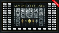 SOLD OUT! Magpies Legends Premium Lithograph