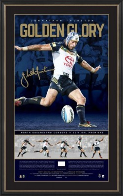 SOLD OUT! Johnathan Thurston Limited Edition Golden Glory Signed Print
