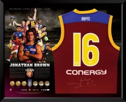 Jonathan Brown Brisbane Lions Retirement Guernsey
