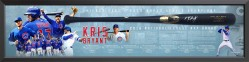 Kris Bryant - Signed Bat Display