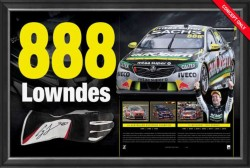 "SOLD OUT! Craig Lowndes ""888 Lowndes"" Limited Edition"