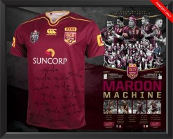 Maroon Machine - 2016 Queensland State of Origin Limited Edition Jersey