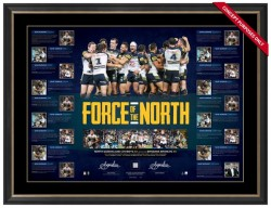 SOLD OUT! North Queensland Cowboys - Force of the North Premiership Limited Edition