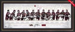SOLD OUT! 'Progression of Perfection' Johnathan Thurston State of Origin Career Retrospective Lithograph