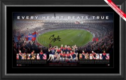 Melbourne Demons Premiers Signed Panoramic