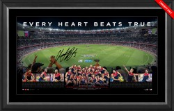 SOLD OUT! Melbourne Demons Premiers Signed Panoramic