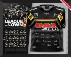 Penrith Panthers 2021 Premiers Team Signed Jersey