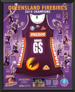Queensland Firebirds - 2015 Champions Dress