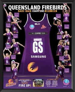 Queensland Firebirds - 2016 Back to Back Champions Dress