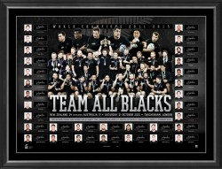 Sold Out! Team All Blacks - All Blacks 2015 World Champions Team Signed Success Limited Edition