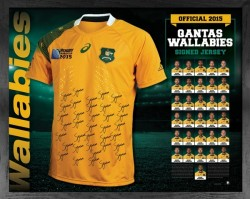 Wallabies 2015 Team Jersey