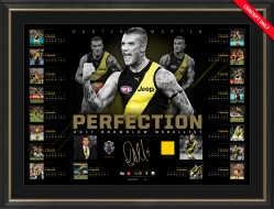 Perfection - Dustin Martin 2017 Brownlow Medal Lithograph