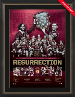 SOLD OUT! Resurrection 2017 Queensland Origin Success Lithograph