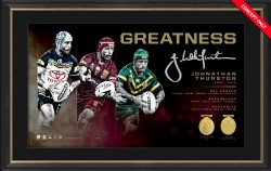 SOLD OUT! Johnathan Thurston Greatness Limited Edition Print