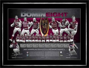 2011 Manly Dual Captains Limited Edition