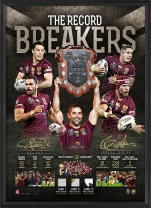 SOLD OUT! 2015 Queensland State of Origin Record Breakers