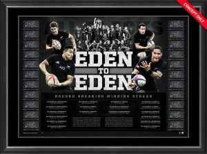 SOLD OUT! All Blacks - From Eden to Eden