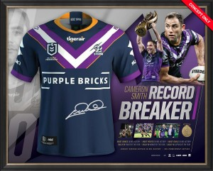 SOLD OUT! Cameron Smith - 'Recordbreaker' 400 Games Jersey