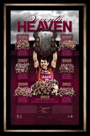 SOLD OUT! Cameron Smith - Seventh Heaven 2012 State of Origin