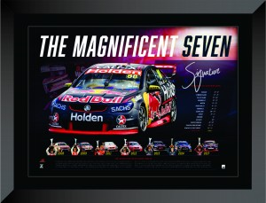 SOLD OUT! Jamie Whincup - The Magnificent Seven