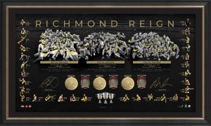 SOLD OUT! Richmond Reign - 2020 Premiers Dual Signed Lithograph