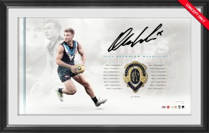 Ollie Wines Brownlow Medal Lithograph