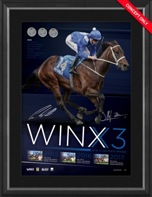 SOLD OUT! Winx - Dual Signed Lithograph