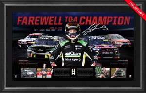 Craig Lowndes Farewell to a Champion Piece of the Action Limited Edition