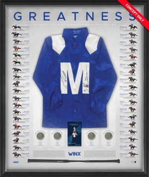 "Winx Dual Signed ""Greatness"" Silks"