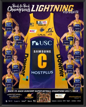 2018 Sunshine Coast Lightning Dress