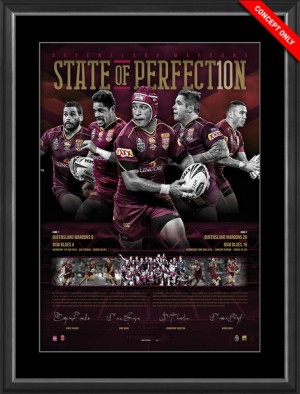 SOLD OUT! State of Perfection - 2016 Holden State of Origin Queensland Limited Edition