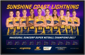 Sunshine Coast Lightning Limited Edition Print
