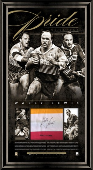 SOLD OUT! Wally Lewis Pride in the Jersey