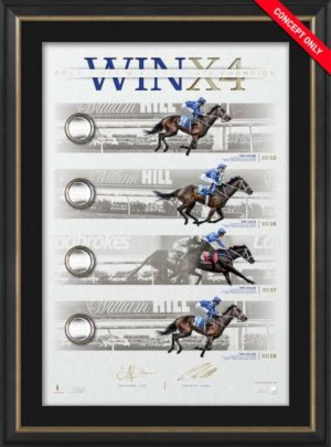 Winx X4 Four Cox Plates Limited Edition