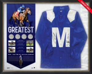 "Winx ""The Greatest"" Fourth Cox Plate Limited Edition Silks"
