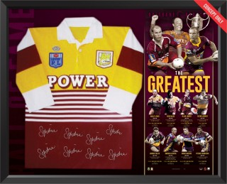 Brisbane Broncos Hall of Fame Jersey