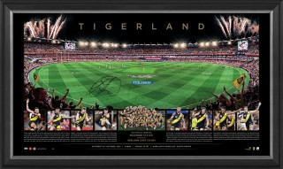 SOLD OUT! Richmond 2020 Premiers Signed Gabba Panoramic